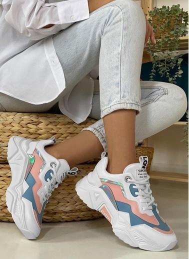 Dark Seer Ds.Pmd239K2110 Sneaker 2021 Kadın Beyaz
